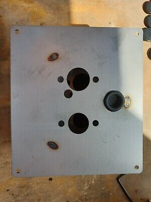STAINLESS STEEL TURRET MOUNTING PLATE EBERSPACHER D2 D4 WEBASTO  HEATER T4 T5