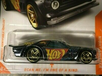 """2020 Hot Wheels NIGHT SHIFTER  1/8 """"id"""" CHASE Cars"""