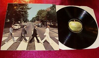 The Beatles - Abbey Road - Lp Ex+/Ex+/Pcs 7088/4-3/1969 Uk