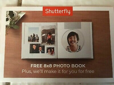 SHUTTERFLY COUPON FOR 8x8 PHOTO BOOK  exp 12/16/19, GREAT GIFT TO GIVE!