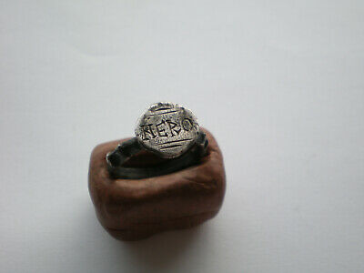 Rare Ancient Roman Silver Ring