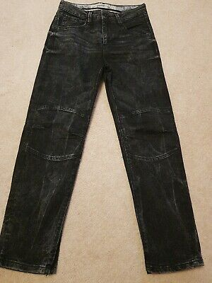 PAIR of  Black JEANS 11-12 Years Straight Boys Jeans New EXCELLENT