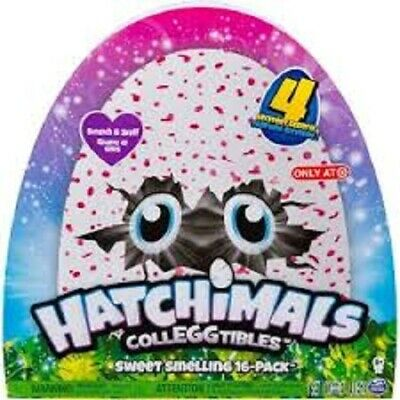 Hatchimals Colleggtibles Sweet Smelling 16 Pack-Scratch&Sniff-4 Mystery Scent