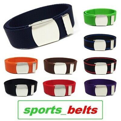 STYLE Youth Webbing Belt Tape 30mm 12-14yrs 85cm Boys Girls Kids Canvas Made UK
