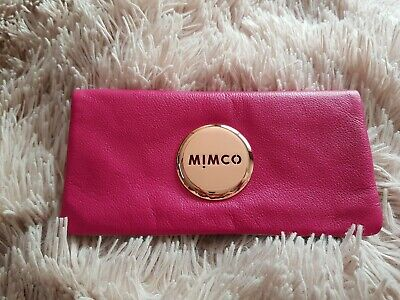 "Gorgeous ""Mimco"" Ladies Bifold Rose Gold Button Leather Purse Wallet Brand New💖"