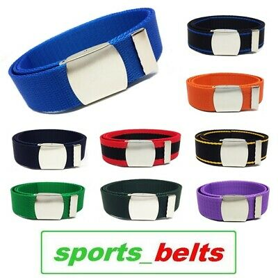 STYLE Youth Webbing Belt Tape 30mm 14-16yrs 90cm Boys Girls Kids Canvas Made UK