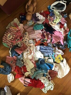 Baby Born Doll Back Pack Acessories And A Stack Of Clothes Bulk