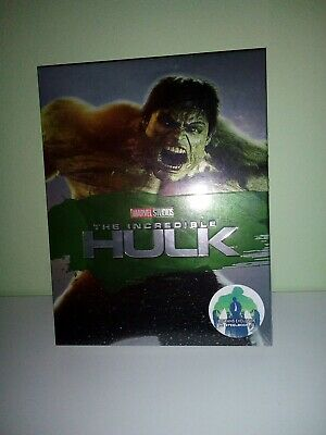 Steelbook Incredible Hulk Blufans Full Slip Sealed 313/650 Blu Ray 4K Audio Ita