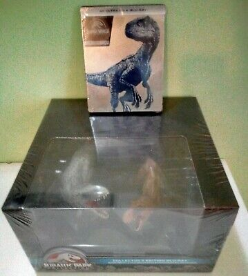 Jurassic Park World Collection + Steelbook 4K Blu Ray Ed. Italiane Sigillate