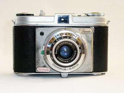 Vintage 1950's Kodak Retinette (fixed lens) 35mm Camera made in Germany