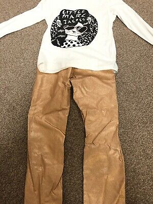 little marc jacobs girls Top And Leggings Set.  Full Outfit Age 10-12