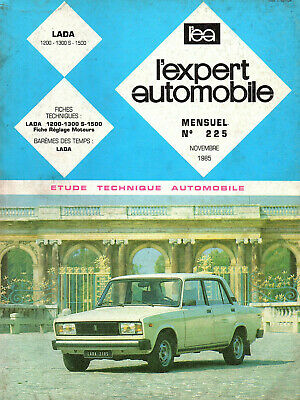 RTA revue technique l'expert automobile n ° 225 LADA 1200 1300 1500 s