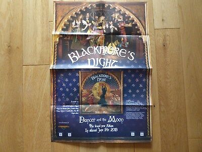 Blackmore's Night - Dancer And The Moon Promotional Poster DEEP PURPLE RAINBOW