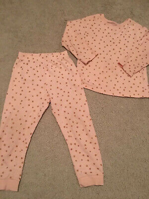 Girls Star Shimmer Pyjamas George Age 3-4