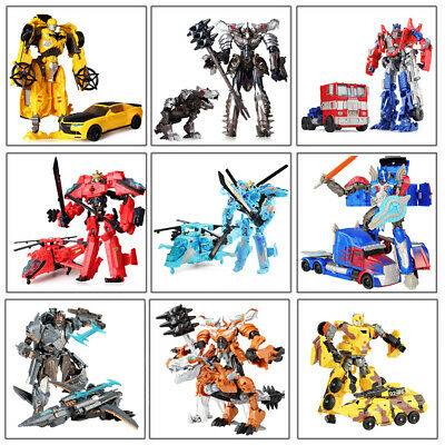Optimus Prime Transformers Bumble Bee Robots Truck Car Action Figure Kid Toys
