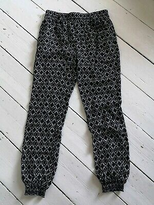 Patterned Cotton Trousers age 11-12 yrs