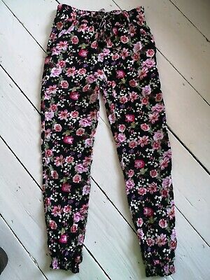 Patterned Cotton Trousers age 10-11 yrs