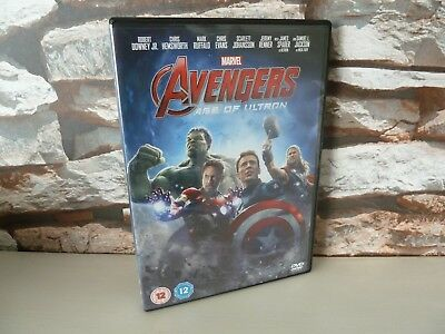 Marvel : Avengers Age Of Ultron Dvd.  Fast/Free Post.