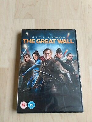 The Great Wall [2017] [DVD]- new & sealed
