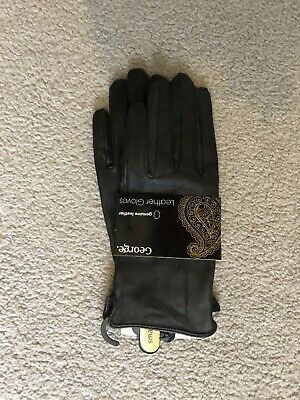 Leather Gloves Ladies New Size S