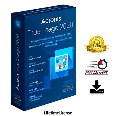 Acronis True Image Backup 2020 + Boot ✔️ LifeTime Activation ✔️Fast Delivery 🔥