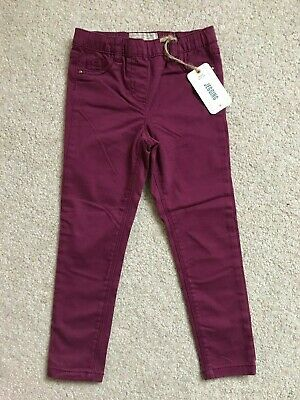 Girl's NEXT Jegging, Leggings/Jeans in Maroon, Age 6 Years, Brand NEW with tags!