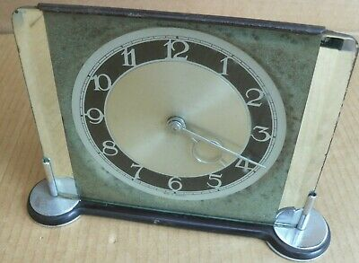 Vintage Smiths Sec Not Working Mantel Clock Sectric Electric Mirror Retro Look