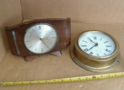Vintage Metamec Dereham Old Not Working Electric Mantel Clock Repro Ships Clock