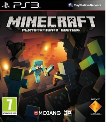 Minecraft Playstation 3 Edition Ps3 - Disc Unscratched