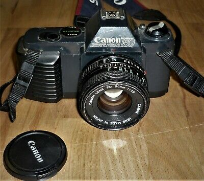 CANON T50 SLR CAMERA WITH CANON 50mm LENS