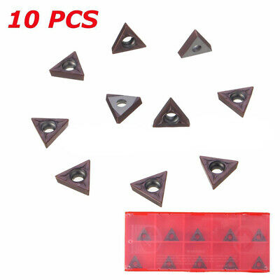 Carbide Tips Inserts Blades For Chisel Cutter Wood Turning Lathe Holder Tool US