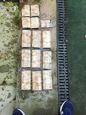 Victorian Ceramic Floor Tiles Tile Fireplace Fire Antique Vintage Lovely Colour