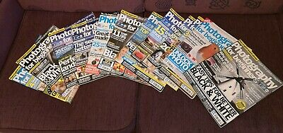 Photography For Beginners Job Lot Of Magazines x 21