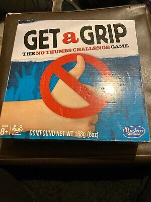 Get a Grip Game by Hasbro. Family Fun, No Thumbs Challenge. BNIB
