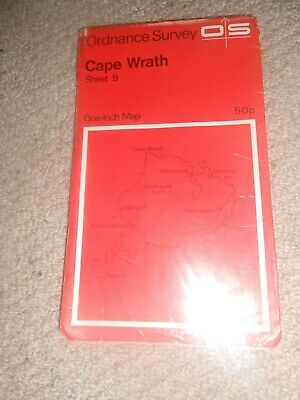 Ordnance Survey Map Cape Wrath Sheet 9 Os One Inch Map