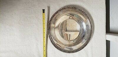 """Reed and Barton Sterling Medici 10.5"""" plate 300 grams."""