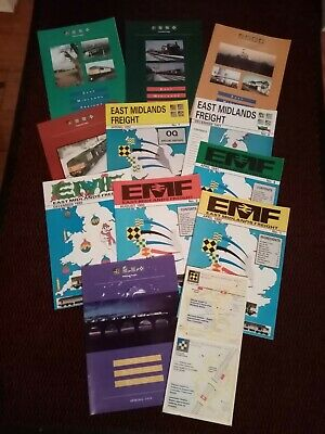 East Midlands Freight magazines 1990 to 1994