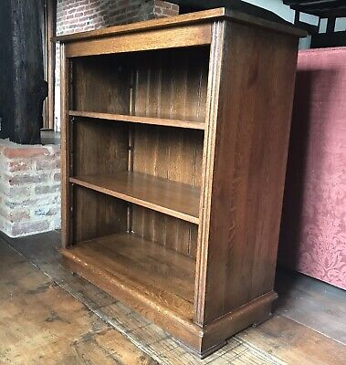 Reproduction Solid Oak Bookcase (With Adjustable Height Shelves)