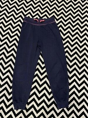 Girla 10-11 Joggers From George Excellent Condition Navy Pink