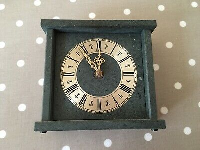 Mantel/Carriage Clock In Slate. Very Attractive!
