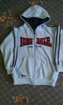 Zipped Hoody (Lonsdale  size  7-8 yrs)