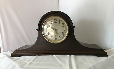 Antique Seth Thomas Mantle Clock Model 124 Westminister Chime Exc Condition