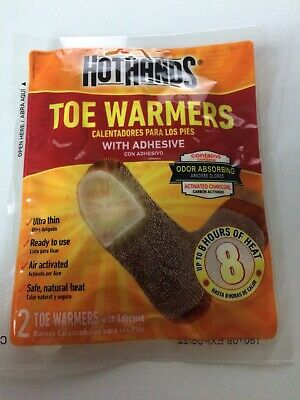 HotHands Toe Warmers 15 Packs (30 Individual) w/Adhesive BRAND NEW
