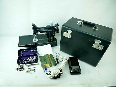 Collectable Sewing Machine Singer 221K Featherweight 20 Dec 1955