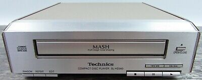 Technics Compact Disc Player SL-HD560 CD Mash Multi Stage Noise Shaping USED