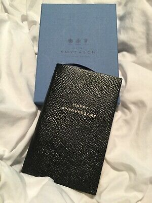 Smythson Chopard 150 Anniversary With Gold notebook
