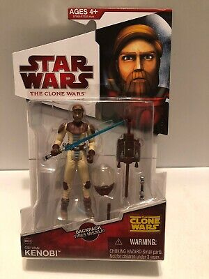 Star Wars The Clone Wars Animated Obi-Wan Kenobi CW12 New