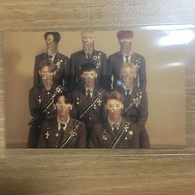 ATEEZ 1st Album TREASURE EP.FIN : All To Action A Ver. Official GROUP Photocard