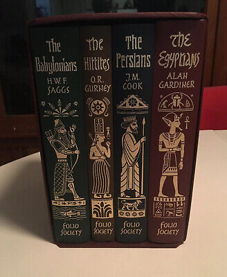 Folio Society- EMPIRES OF THE ANCIENT NEAR EAST- 4 Volumes- In Slipcase Like New
