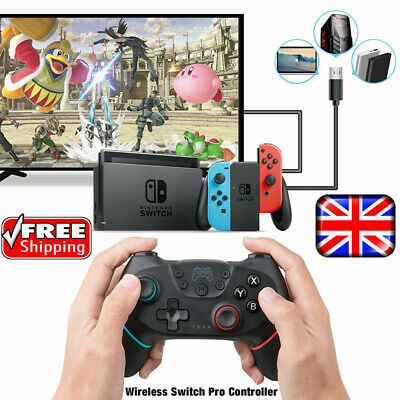 Bluetooth Wireless Gamepad Joystick Pro Controller Remote for Nintendo Switch UK